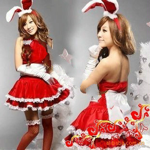 Animation Costume Games uniforms, rabbits, bunnies, Christmas shows Sexy picture girl suit
