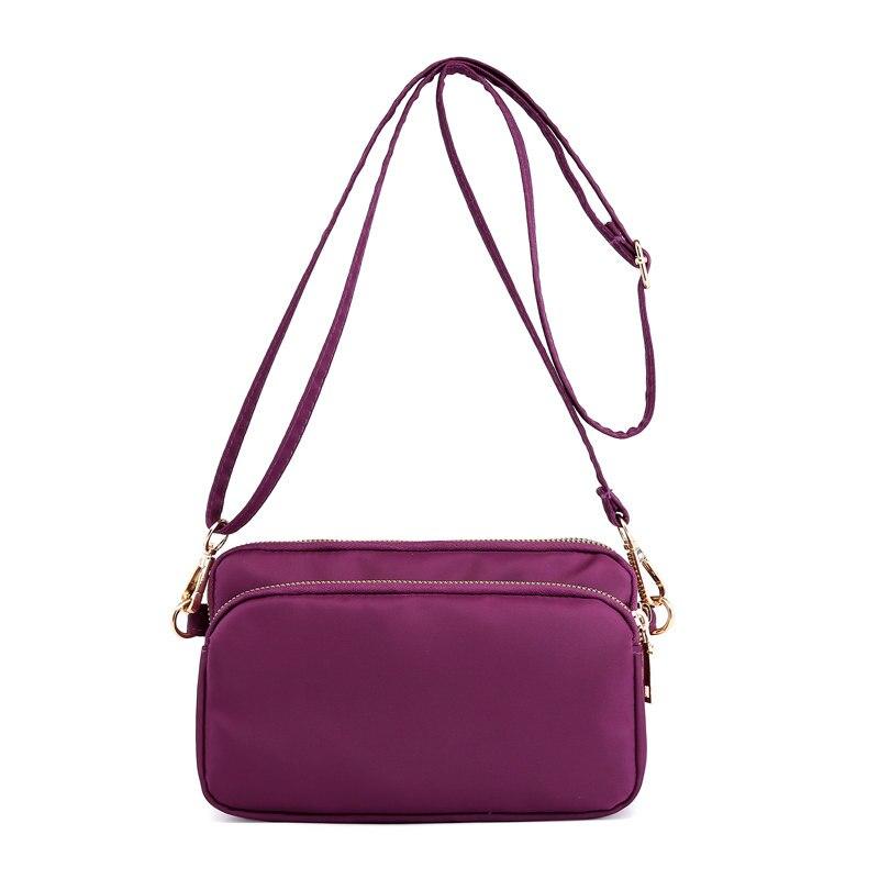 Waterproof Nylon Women Messenger Bags Female Flap Crossbody Shoulder Bags Casual Day Clutch Purse Vintage Hobos Ladies Handbags