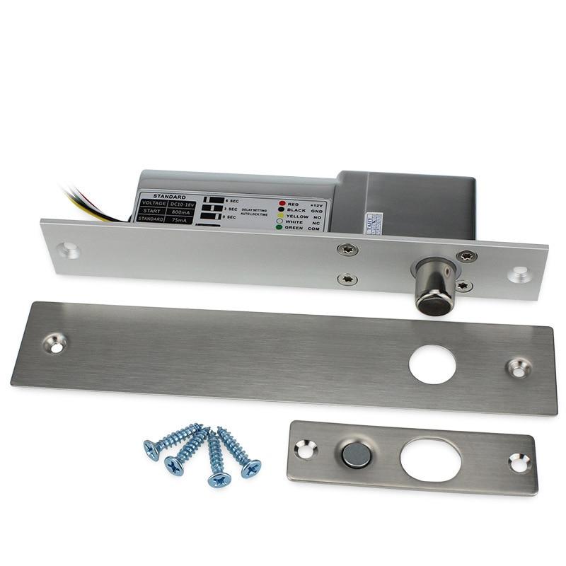 5Lines Electric Low Temperature Delay Lock for Access Control Wood Glass Door   5Lines Electric Low Temperature Delay Lock for Access Control Wood Glass Door