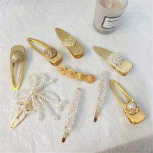 2019 Korea 3Pcs/Set Pearl Metal Hair Clip Hairband Comb Barrette Hairpin Headdress Accessories Beauty Styling Tools New Arrival