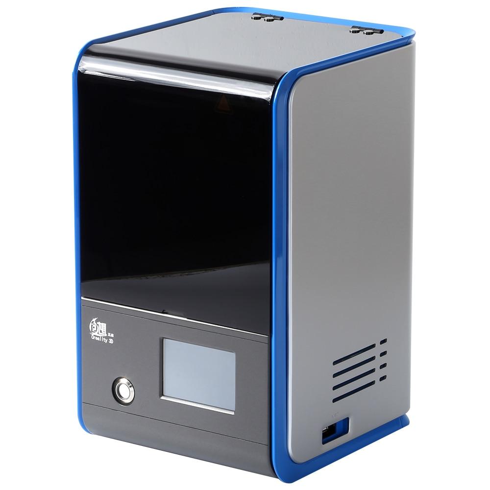 Creality 3D LD-001 3D Imprimante En Alliage D'aluminium DLP Photopolymérisation 3d Imprimante Haute Précision Entièrement-couleur tactile écran DIY 3D Impression