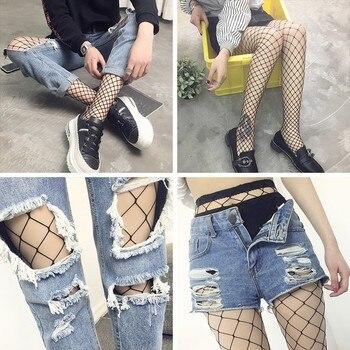 SEXY women high waist fishnet stocking fishnet club tights panty knitting net pantyhose trouser mesh lingerie tt016 1pcs/lot фото