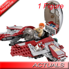 LEPIN 05020 BELA 10575 Star Series Obi-Wan Wars Jedi Interceptor Building Blocks Bricks Toys Compatible with Lego 75135 Gifts(China)