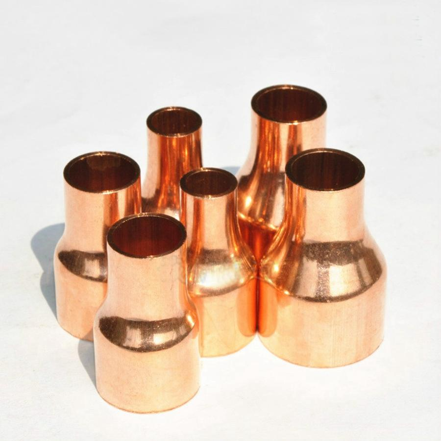 42x35mm Copper End Feed Reducer Coupling Pipe Fitting for gas water oil