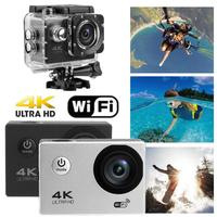 2.0in LCD Touch Screen Action Camera 140 Lens 4K WiFi Action Cam 30m Underwater Waterproof Camcorder Sport Camera