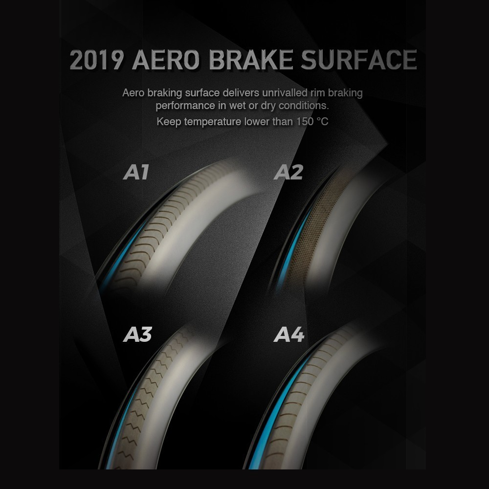 2019 AERO Brake Surface Elitewheels Upgrade Brake Surface Link For One Piece Of Rim