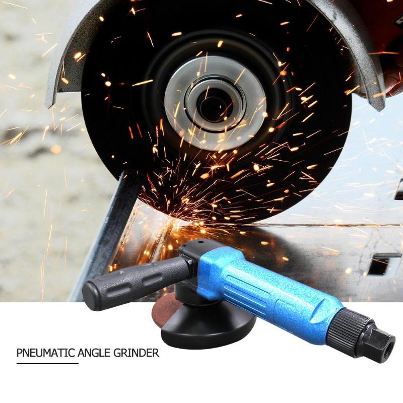 4 pouce Pneumatique Meuleuse D'angle De Polissage Industriel Air Angle Sander Tampon pour Machine Poli Opération De Coupe