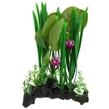 Аквариумные и террариумные растения для ящериц, декоративные украшения для амфибий и рептилий
