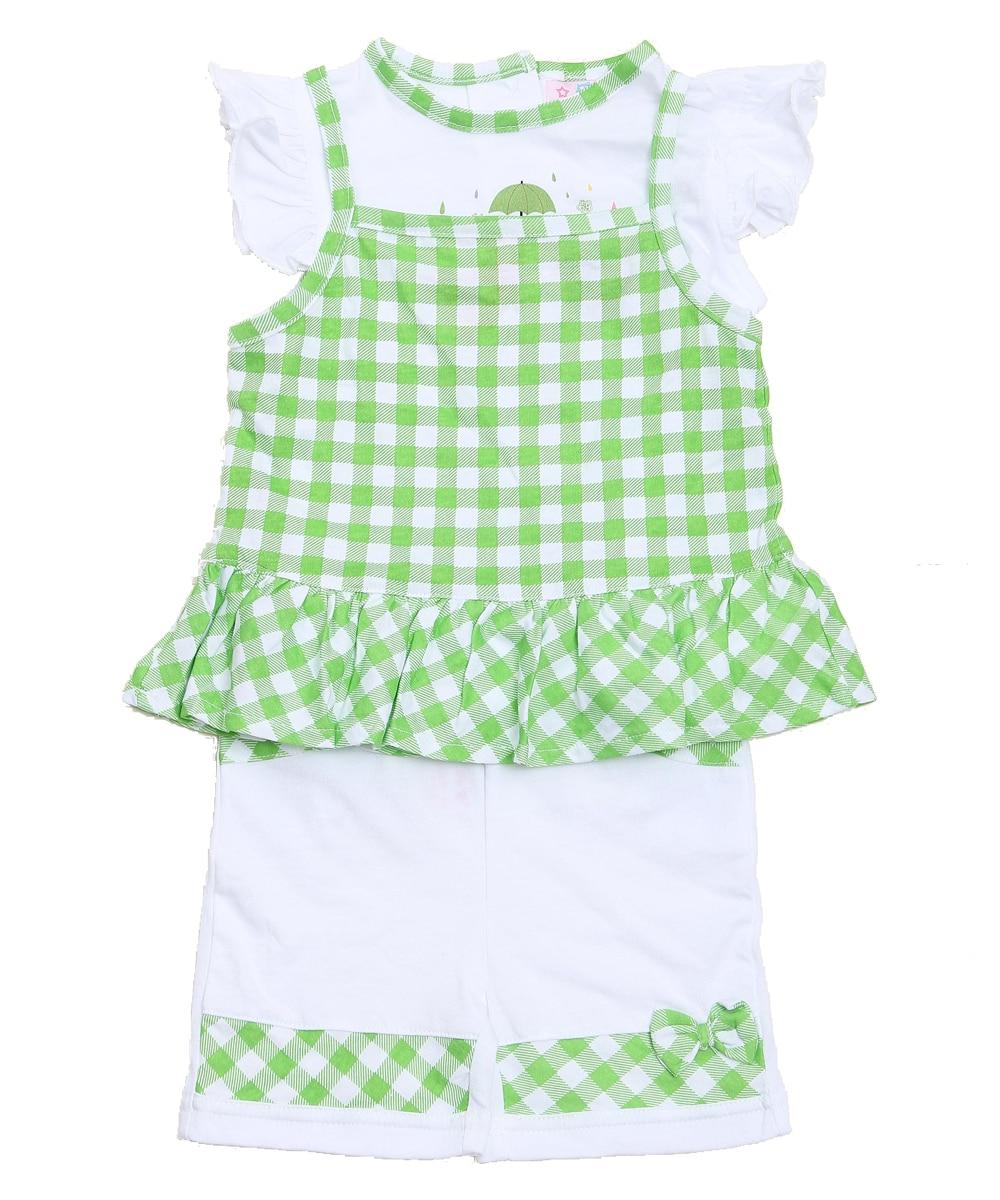 2019 Modna dječja odjeća Set za malu djecu Djevojka odjevena 3 - Odjeća za bebe - Foto 3