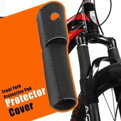Универсальная защитная накладка на переднюю вилку велосипеда MTB защита рамы велосипеда цепи защитная накладка комплект велосипедных аксес...