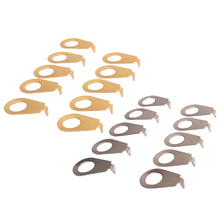 10PCS Mental Guitar Knobs Pointer Plate Knob Position Indicator for Guitar Bass Accessories