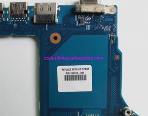 Image 4 - אמיתי 744016 601 744016 501 744016 001 6050A2566301 MB A04 HM87 מחשב נייד האם Mainboard עבור HP ProBook 650 G1 נייד