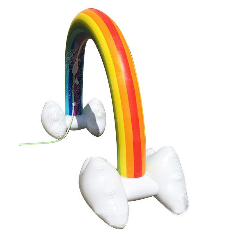 Jouet d'arrosage Portable arc-en-ciel gonflable innovant pour enfants jouet gonflable pour enfants