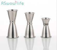 Bar Tool Stainless Steel Double Head Measuring Cup Mixing For Wine Set
