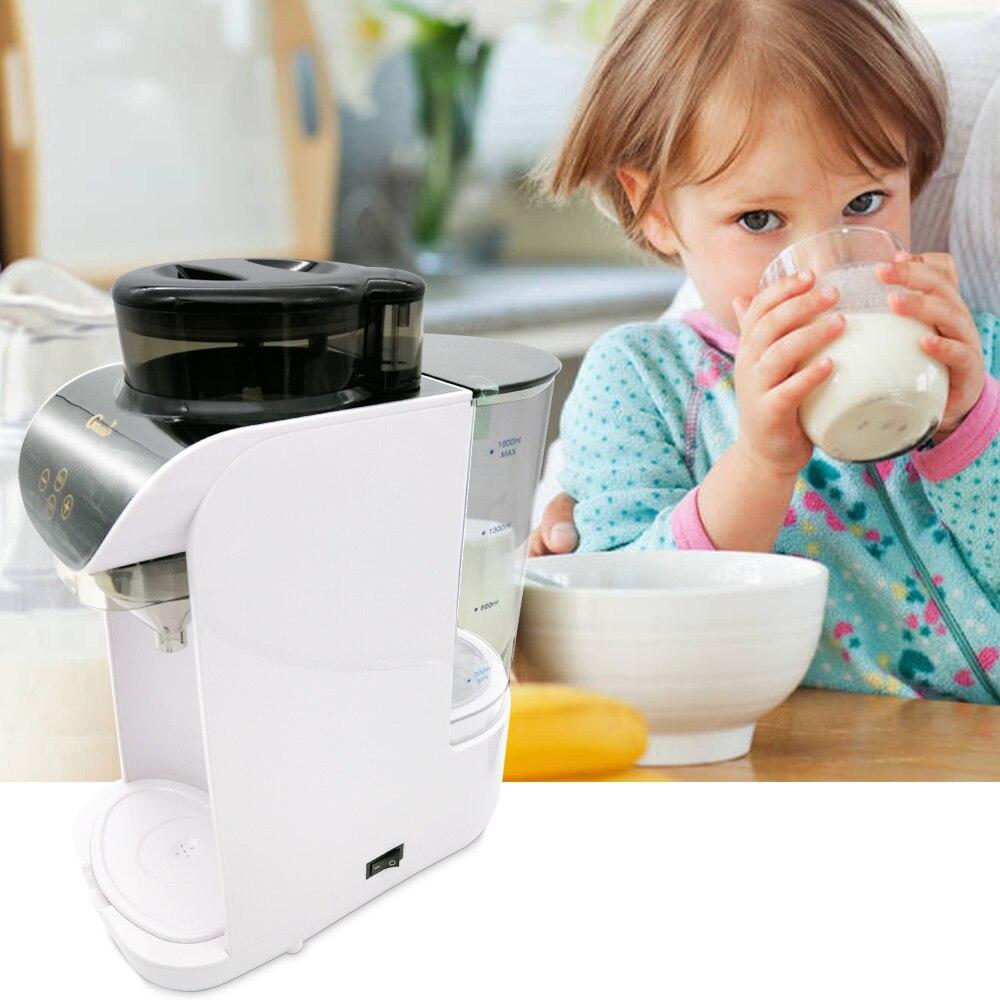 Gustino GS 801 автоматический 1.8L умный доильный аппарат для ребенка интеллектуальное быстрорастворимое сухое молоко с сенсорным экраном для мам