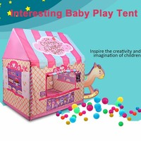 Cartoon Baby Toy Tent Children Tree Play House Kid Private Space Spare Room Play Princess Toy Tent Interesting Kids Gaming Tents