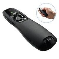 JSHFEI Wireless Presenter Rot Laser Pointer R400 2 4 Ghz USB PPT Fernbedienung für Powerpoint Präsentation auf