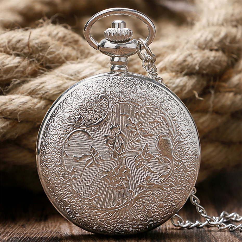 Golden Horse Pocket Watch
