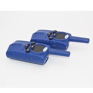 Image 5 - 2 teile/los T6 Walkie talkie Two way radio USB ladung für backpackers