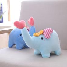25cm Cute Plush Stuffed Elephant Toy  Doll Baby Pillow Cushion NTDIZ0246