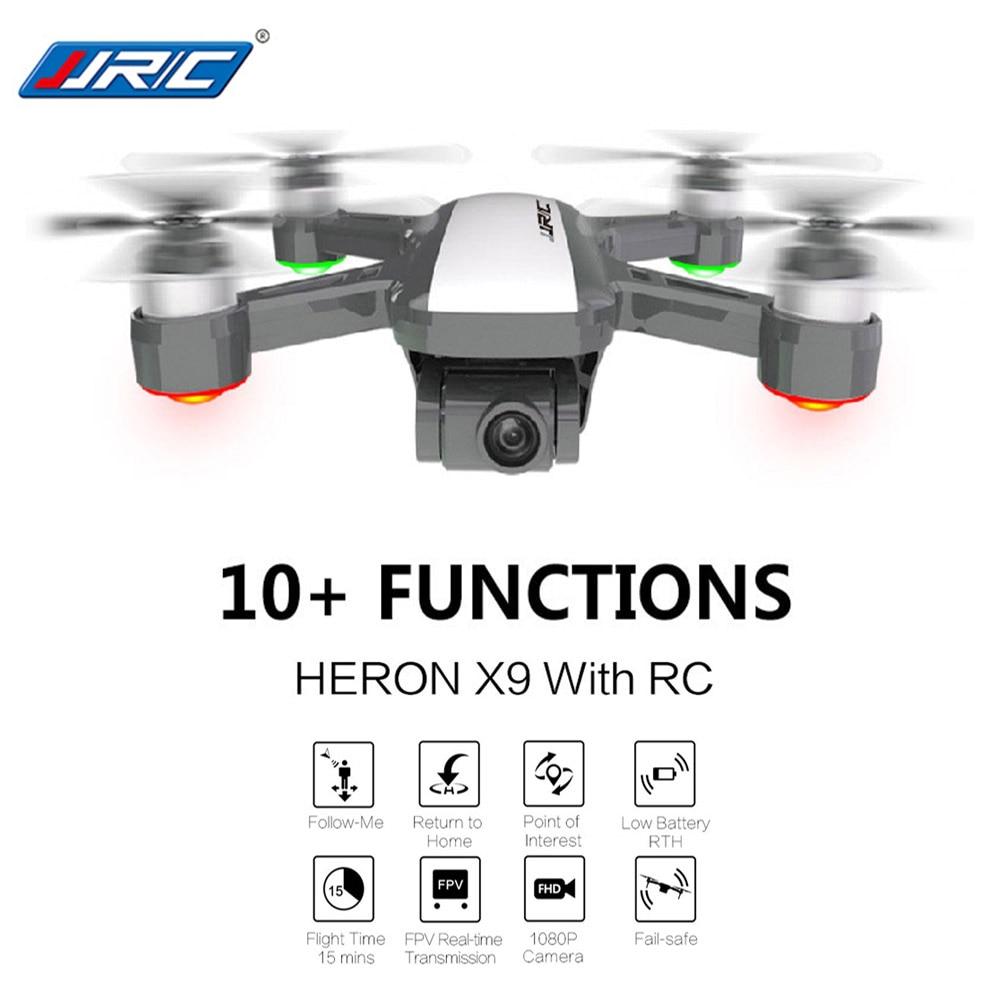 JJRC X9 5G 1080 P FPV радиоуправляемая беспилотная камера Wi-Fi gps потока позиционирования высота Удержание следовать нажмите, чтобы Летающий Квадрок...