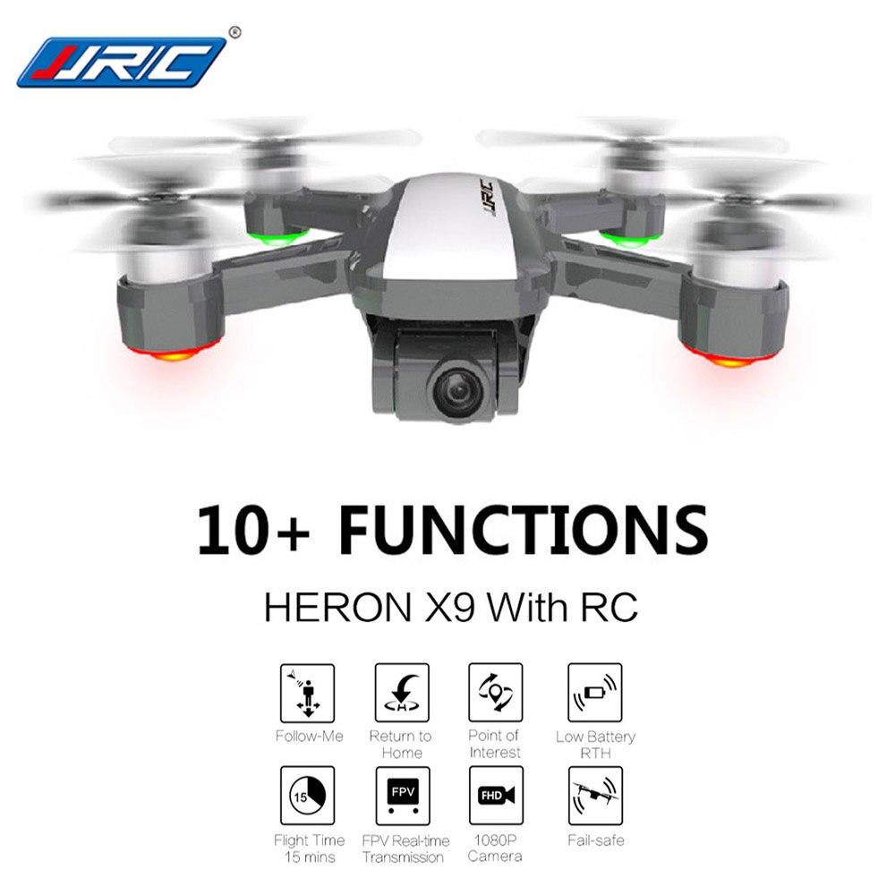 JJRC X9 5G 1080 P FPV RC caméra drone WiFi GPS Flux Positionnement Maintien D'altitude Suivre Robinet À Voler quadrirotor hélicoptère rc Dron