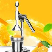 Espremedor Manual de Laranja Limão Espremedor de Frutas Aço inoxidável Pressionando Máquina Mão Imprensa Espremedor de Limão Frutas para Casa|Espremedor de fruta manual| |  -