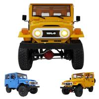WPL New RC Car C34 Off Road Remote Control Car Toys RTR KIT 2.4G Ratio 80 Motor 25 Servo