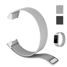 Metal Strap For Fitbit Charge 3 Band Screwless Stainless Steel Bracelet Wristbands Replace Accessories