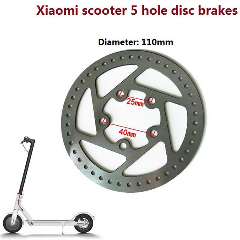 Para Xiaomi Mijia M365 Scooter Eléctrico personalizar disco de freno 110Mm disco de freno de la rueda trasera