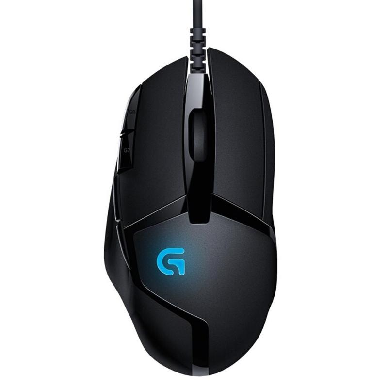 Logitech G402 Hyperion Fury FPS Gaming Mouse 4000 DPI Wired Optical Mouse G Shift 8 button Mice for Windows XP/Vista/7/8/10 image