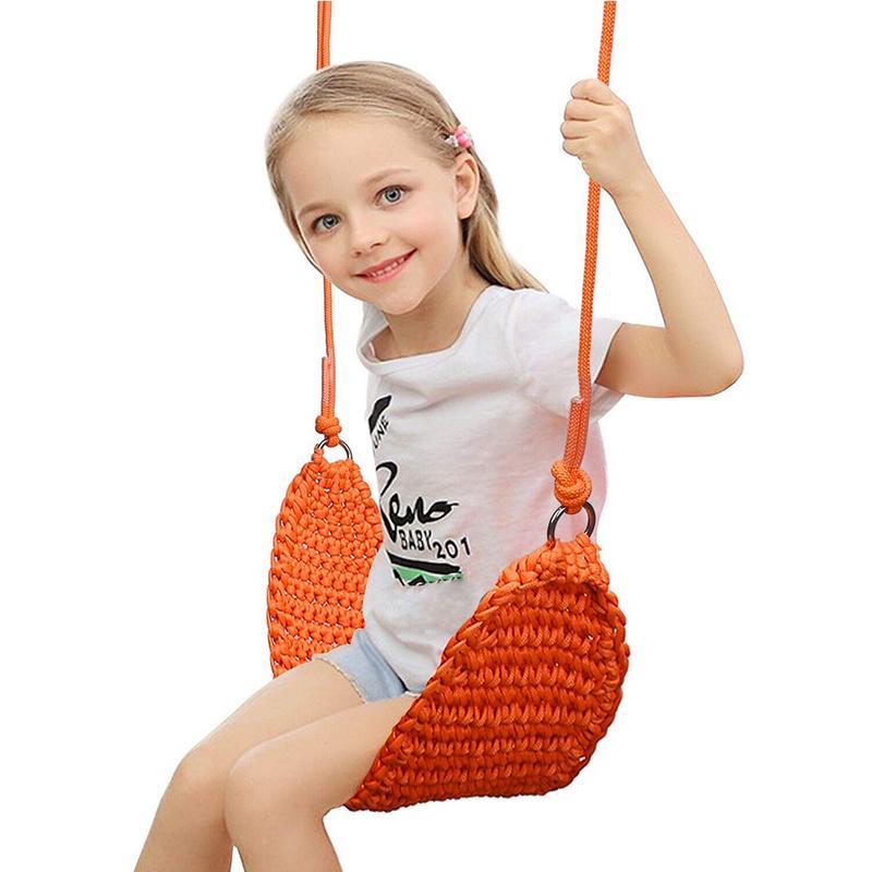 Balançoire pour enfants jouets pour enfants sens intérieur balançoire maille siège bébé corde Net suspendu chaise balançoire bébé jouets