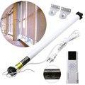 Electric Curtain Set AC 100-240V Electric Roller Shade Motor Blind Tubular Motor Kit Remote Control