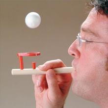 木製玩具ノスタルジックなガジェット楽しい木工バランス吹いおもちゃ大人子供演奏おもちゃ