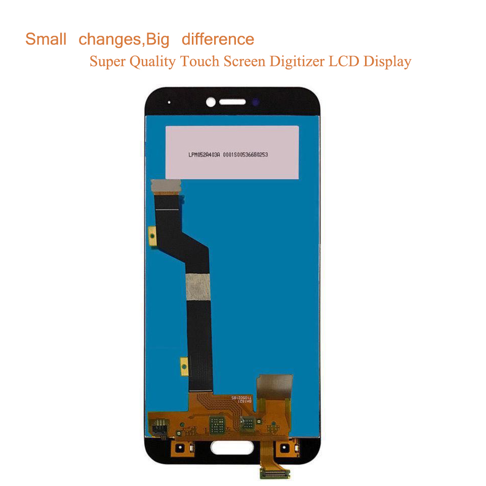 10Pcs lot LCD For Xiaomi Mi 5C Mi5C LCD Display Touch Screen Digitizer Pantalla monitor Mi 5C LCD Assembly Complete With Frame in Mobile Phone LCD Screens from Cellphones Telecommunications