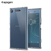 Защитный чехол Spigen Ultra Hybrid для Sony Xperia XZ1 Crystal Clear