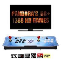 Pandoras Box 6 s обновлен Home Edition Улица Аркада 1388 игра в одном Бокс Король с двумя рокер игровой автомат