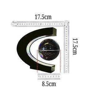Image 5 - LED Welt Karte Magnetische Schwebender Globus Hause Elektronische Anti schwerkraft C form Lampe Neuheit Ball Licht Geburtstag Geschenke
