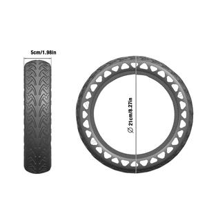 Image 5 - Solid Tire Tubeless Drilled Scooter Replacement Tire For Xiaomi M365 Electric Scooter 8.5 Inches Solid Tire Electric Scooter