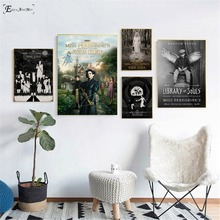 Miss Peregrine's Home For Peculiar Children Poster Wall Paint Living Room Abstract Canvas Art Pictures For Home Decor No Frame miss peregrine s home for peculiar children