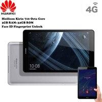 HUAWEI Honor 5 4 г Android планшеты Phablet 8 ''android 9 Hisilicon Kirin 710 Octa Core 1,7 ГГц 3 Гб 32 отпечатков пальцев сенсор уход за кожей лица ID
