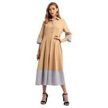 Femmes Explosifs de Musulman Automne Hiver Nouveau Moyen Longue Robe  Pakistanais Vêtements 0aa86f2f627