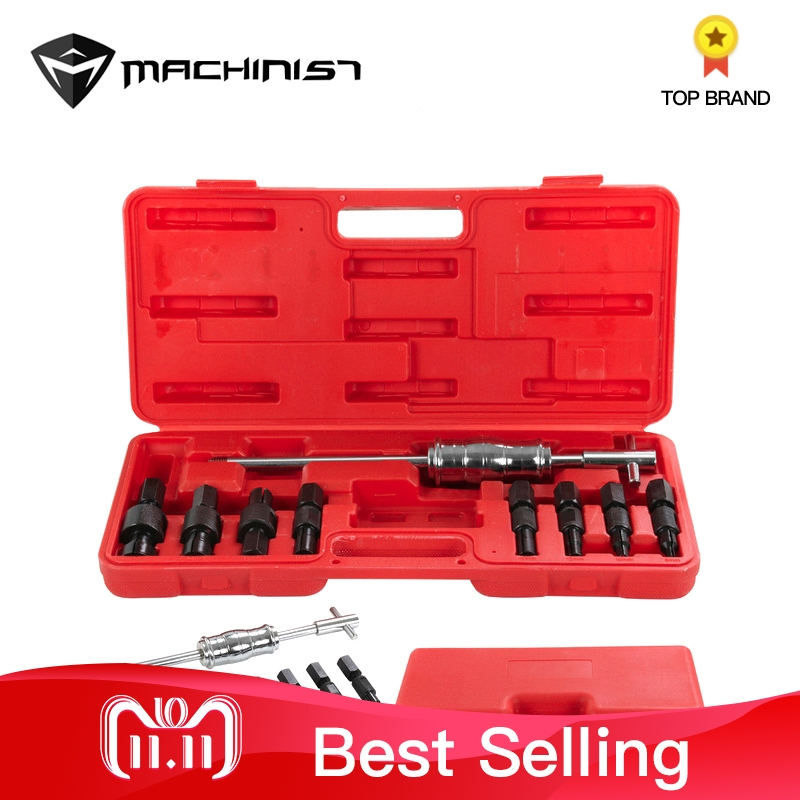 купить 9Pc/SET Pilot Bearing Puller Blind Hole Slide Hammer Internal Bearings Extractor Removal Kit Auto Car Repair Tools по цене 5493.77 рублей