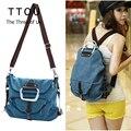 TTOU Модный женский холщовый рюкзак  большие школьные сумки на плечо для подростков  повседневный рюкзак для девушек  Женская Повседневная од...