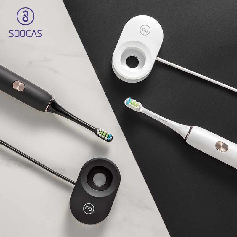 Soocas X3 USB wireless charging Electric Toothbrush xiaomi soocare sonic toothbrush 4 clean mode adult ultrasonic toothbrush APPSoocas X3 USB wireless charging Electric Toothbrush xiaomi soocare sonic toothbrush 4 clean mode adult ultrasonic toothbrush APP