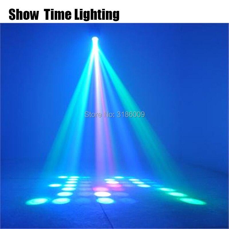 DJ Led Airship Moon Flower Disco Light Russia Diamonds Show DJ Party Disco Light Auto Sound Model Work Carton Building Block
