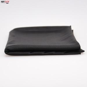 Image 4 - HIFIDIY altavoz en vivo de tela tipo rejilla, tela estéreo, Gille, accesorios de protección, poros suaves negros, 1,5x0,5