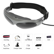 922A смарт-видео очки на голову дисплей FPV очки 80 дюймов Виртуальный Широкий экран AV вход для PS3 xbox MP5 ТВ dvd-плеер
