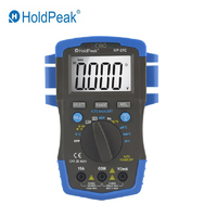 HoldPeak HP 37C True RMS Digital Multimeter 6000 Counts ESR Tester AC DC Voltage Current Ohm Temperature Frequency NCV Meter New