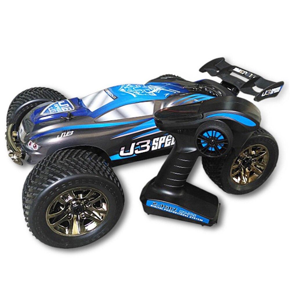 JLB course RC voitures jouets 1:10 RC tout-Terrain Truggy métal châssis gros alésage amortisseur tout-Terrain pneu télécommande voiture jouet